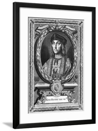 Henry VII of England, (17th Centur)-P Vanderbanck-Framed Giclee Print