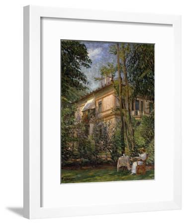 Goldschmit's Villa, Late 19th or Early 20th Century-Paul Hoeniger-Framed Giclee Print