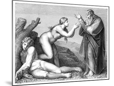 The Creation of Eve, 1899- Pennemaeker-Mounted Giclee Print