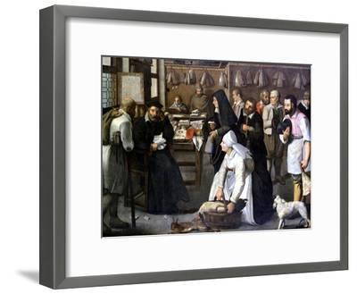 The Sale of Nature, C1584-1637-Pieter Brueghel the Younger-Framed Giclee Print