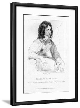 Charles II, King of England, Scotland and Ireland-R Cooper-Framed Giclee Print