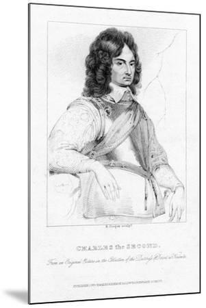 Charles II, King of England, Scotland and Ireland-R Cooper-Mounted Giclee Print