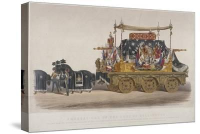 View of the Funeral Car of the Duke of Wellington, 1852-Richard Redgrave-Stretched Canvas Print
