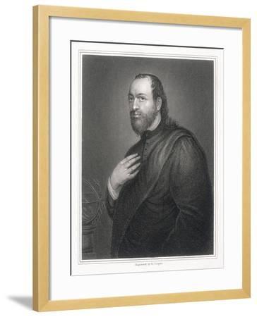 Sir Kenelm Digby, 1825-R Cooper-Framed Giclee Print