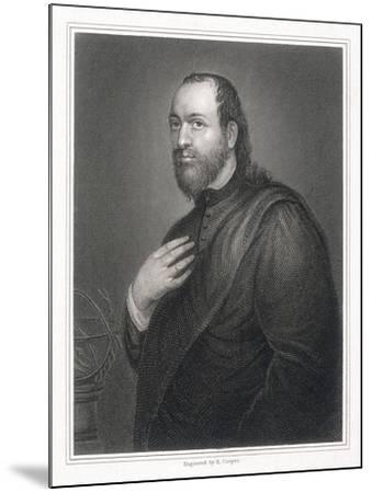 Sir Kenelm Digby, 1825-R Cooper-Mounted Giclee Print
