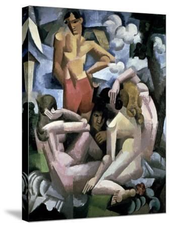 The Bathers, 1912-Roger de La Fresnaye-Stretched Canvas Print