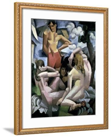The Bathers, 1912-Roger de La Fresnaye-Framed Giclee Print