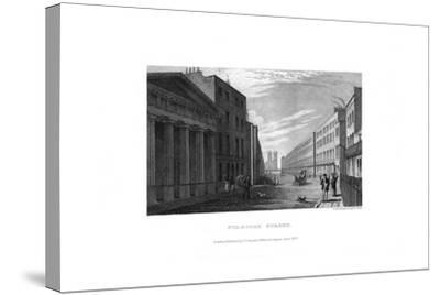 Stamford Street, London, 1830-RL Wright-Stretched Canvas Print