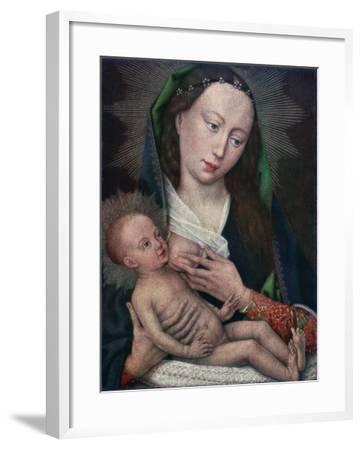 Virgin and Child, 1420-1460-Rogier van der Weyden-Framed Giclee Print