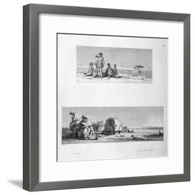 Young Barabra, C1808- Prevost-Framed Giclee Print