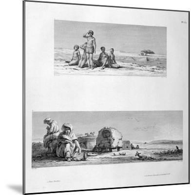 Young Barabra, C1808- Prevost-Mounted Giclee Print