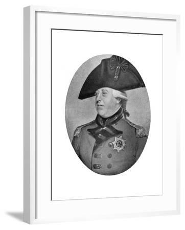 George III of the United Kingdom, Late 18th-Early 19th Century-Richard Cosway-Framed Giclee Print