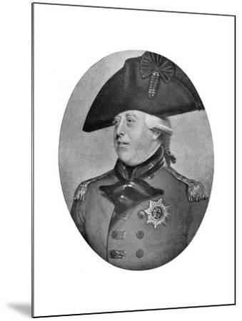 George III of the United Kingdom, Late 18th-Early 19th Century-Richard Cosway-Mounted Giclee Print