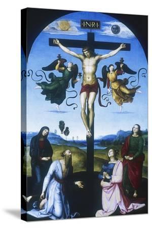 Mond Crucifixion, C1530-Raphael-Stretched Canvas Print