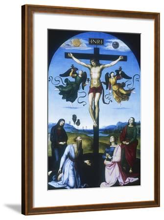 Mond Crucifixion, C1530-Raphael-Framed Giclee Print