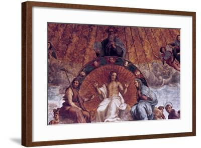 The Disputation on the Holy Sacrament (Detail), 1508-1509-Raphael-Framed Giclee Print