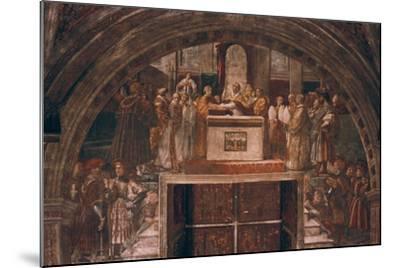 Justification of Leo III, 1514-Raphael-Mounted Giclee Print