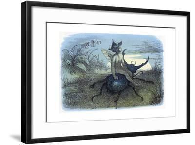 The Fairy Queen's Messenger, C1870-Richard Doyle-Framed Giclee Print