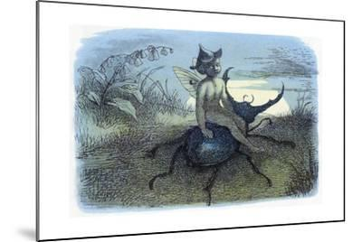 The Fairy Queen's Messenger, C1870-Richard Doyle-Mounted Giclee Print