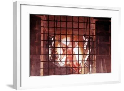 St Paul in Prison, Early 16th Century-Raphael-Framed Giclee Print