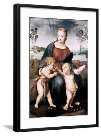 Madonna Del Cardellino, 1507-Raphael-Framed Giclee Print