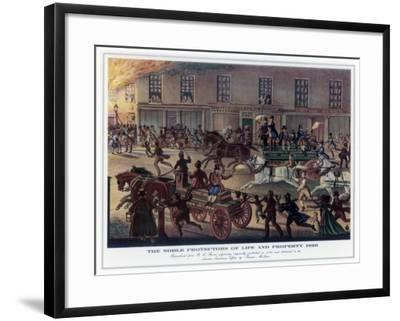 The Noble Protectors of Life and Property, 1820-R Reeves-Framed Giclee Print
