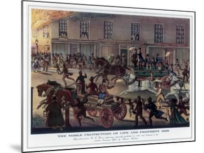 The Noble Protectors of Life and Property, 1820-R Reeves-Mounted Giclee Print