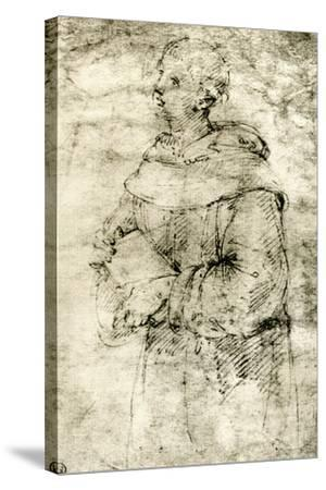 Study of a Monk, 1913-Raphael-Stretched Canvas Print