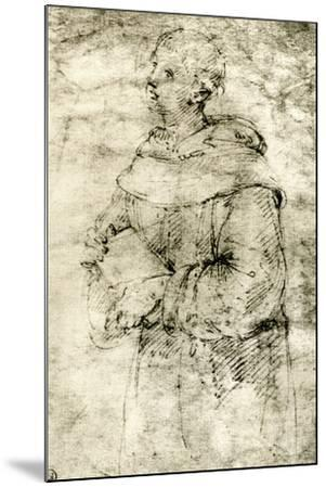 Study of a Monk, 1913-Raphael-Mounted Giclee Print