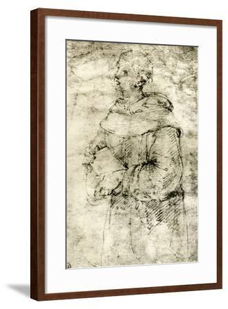 Study of a Monk, 1913-Raphael-Framed Giclee Print
