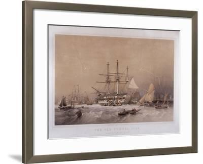 The Old School, 1755: Eight Months to India, 1855-Robert Carrick-Framed Giclee Print