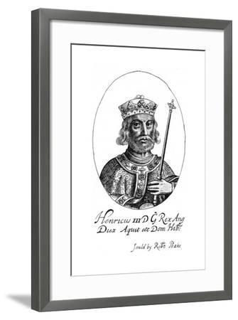 Henry III of England-Robert Peake-Framed Giclee Print