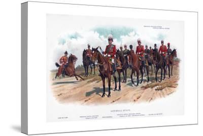 General Staff, 1902-R Simkin-Stretched Canvas Print