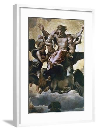 Vision of Ezekiel, C1518-Raphael-Framed Giclee Print