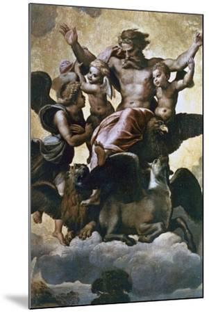 Vision of Ezekiel, C1518-Raphael-Mounted Giclee Print