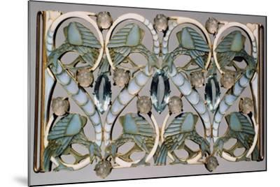 Plaque, Late 19Th/20th Century-Rene Lalique-Mounted Giclee Print