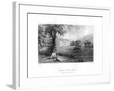 Claremont Park, Esher, Surrey, 19th Century-TA Prior-Framed Giclee Print