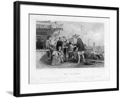 Chinese Cat Merchants, 19th Century-TA Prior-Framed Giclee Print