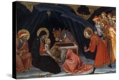 Epiphany, Late 14Th/Early 15th Century-Taddeo di Bartolo-Stretched Canvas Print