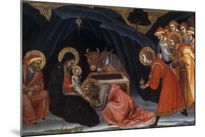 Epiphany, Late 14Th/Early 15th Century-Taddeo di Bartolo-Mounted Giclee Print
