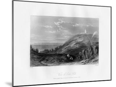 View of Leith Hill, C1844-T Fleming-Mounted Premium Giclee Print