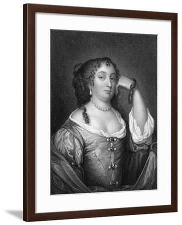 Anne Hyde, Duchess of York, Mother of Mary II and Queen Anne, 1825-S Freeman-Framed Giclee Print