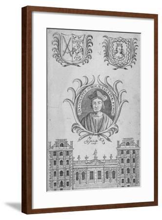 St Paul's School, City of London, 1750-Sutton Nicholls-Framed Giclee Print