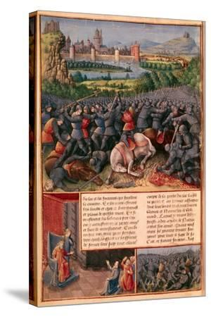 Scenes from the First Crusade, 1096-1099-Sebastian Marmoret-Stretched Canvas Print