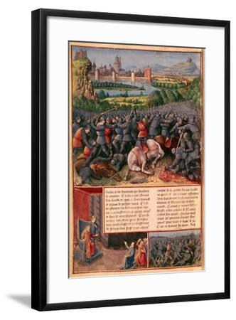 Scenes from the First Crusade, 1096-1099-Sebastian Marmoret-Framed Giclee Print