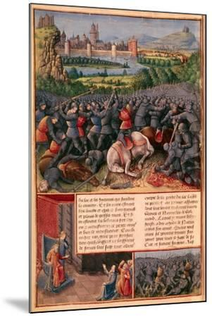 Scenes from the First Crusade, 1096-1099-Sebastian Marmoret-Mounted Giclee Print