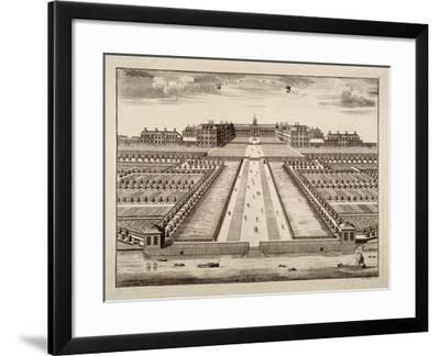 Bird's-Eye View of the Royal Hospital, Chelsea, London, C1750-Sutton Nicholls-Framed Giclee Print