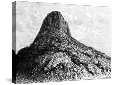 Mount Selkirk, Juan Fernandez Islands, 1895-T Taylor-Stretched Canvas Print