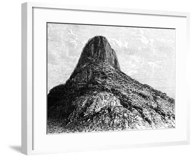 Mount Selkirk, Juan Fernandez Islands, 1895-T Taylor-Framed Giclee Print