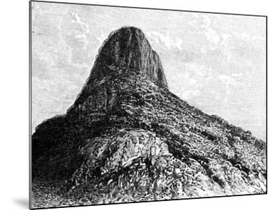 Mount Selkirk, Juan Fernandez Islands, 1895-T Taylor-Mounted Giclee Print